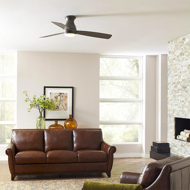 Low-Profile Ceiling Fans.