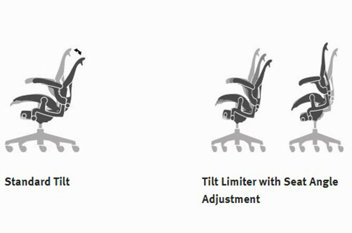 Aeron Collection Options - Tilt Graphic