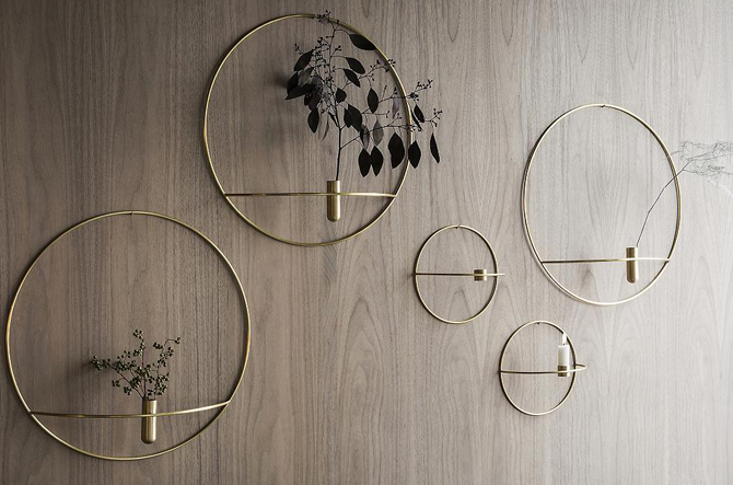 POV Circle Candleholder by Menu