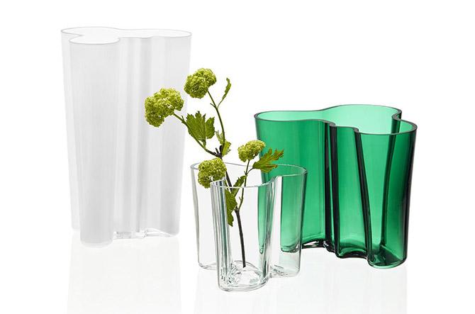 Aalto Vase – Emerald by Alvar Aalto for Iittala