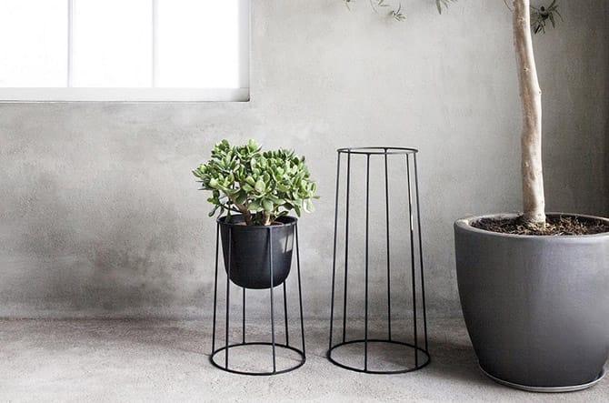 Wire Plant Pot by Menu