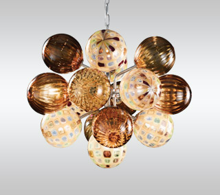 Perle 17 Suspension By Oggetti Luce