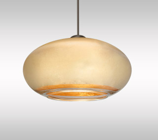 Brio 7 Mini Pendant by Besa Lighting