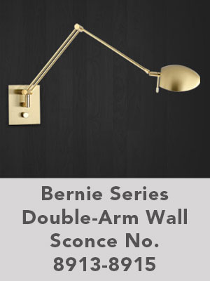 Bernie Series Double-Arm Wall Sconce No. 8913-8915