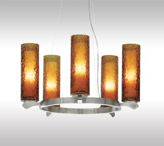 Rock Candy 5-Light Chandelier