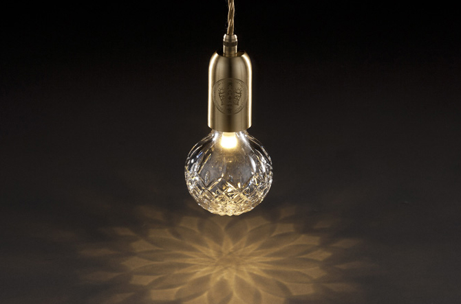 Crystal Bulb Pendant by Lee Broom