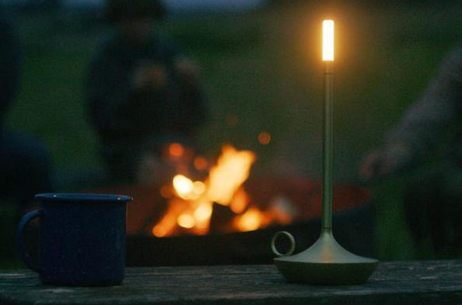 Wick LED Table Lamp by Graypants