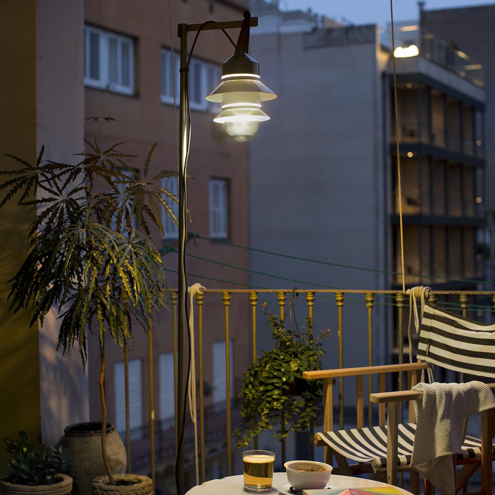 Santorini Outdoor Floor Lamp by Marset
