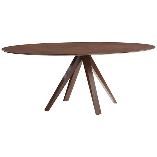 Nova Ellipse Dining Table by Saloom Furniture