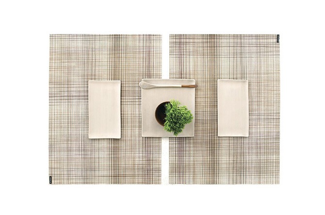 Plaid Tablemat by Chilewich.