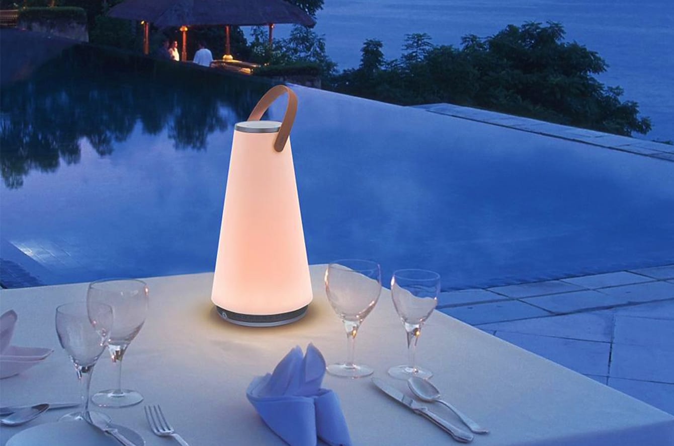 UMA LED Sound Lantern by Pablo Designs