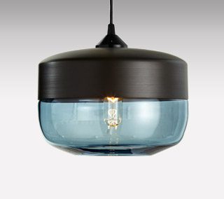 Wide Cylinder Pendant by Hennepin Made