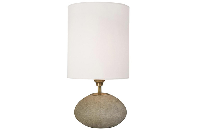 Concrete Orb Lamp by Regina Andrew