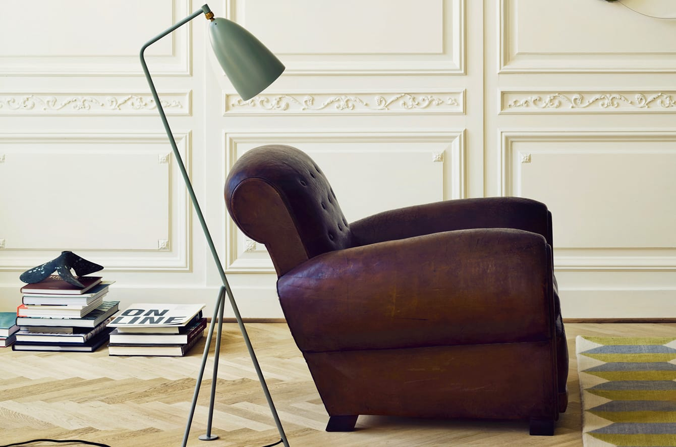 Grasshopper Floor Lamp by Gubi