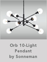 Orb 10-Light Pendant