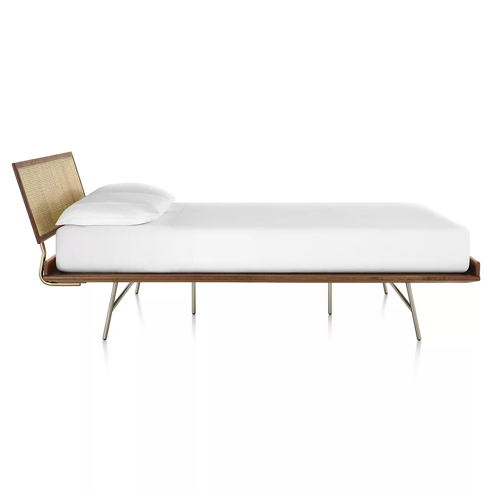 Nelson Thin Edge Bed, Metal Base by Herman Miller®.