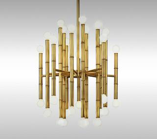 Meurice 30 Light Chandelier by Jonathan Adler