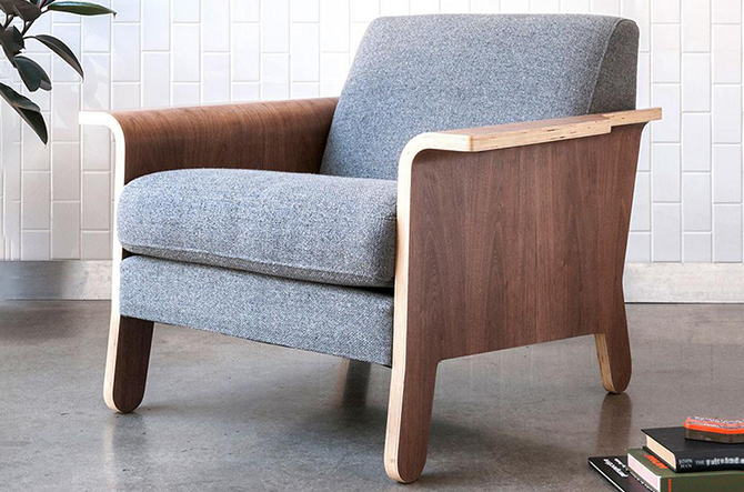 Lodge Chair by Gus Modern
