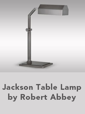 Jackson Table Lamp by Robert Abbey