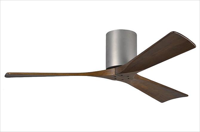 Irene 3-Blade Hugger Ceiling Fan by Atlas Fan Company
