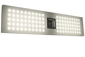 Grid LED Bath Bar