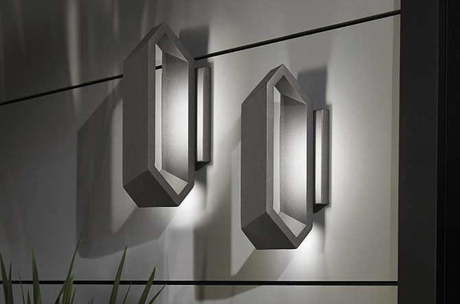 Pitch Outdoor LED Wall Sconce by George Kovacs