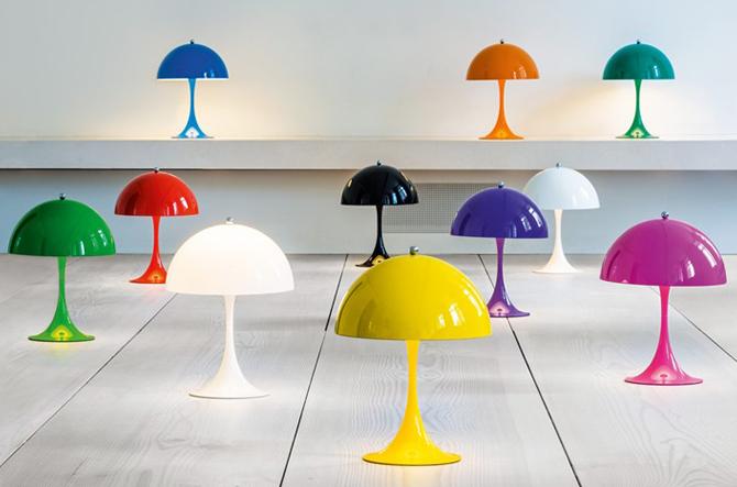 Panthella Mini Table Lamp by Louis Poulsen