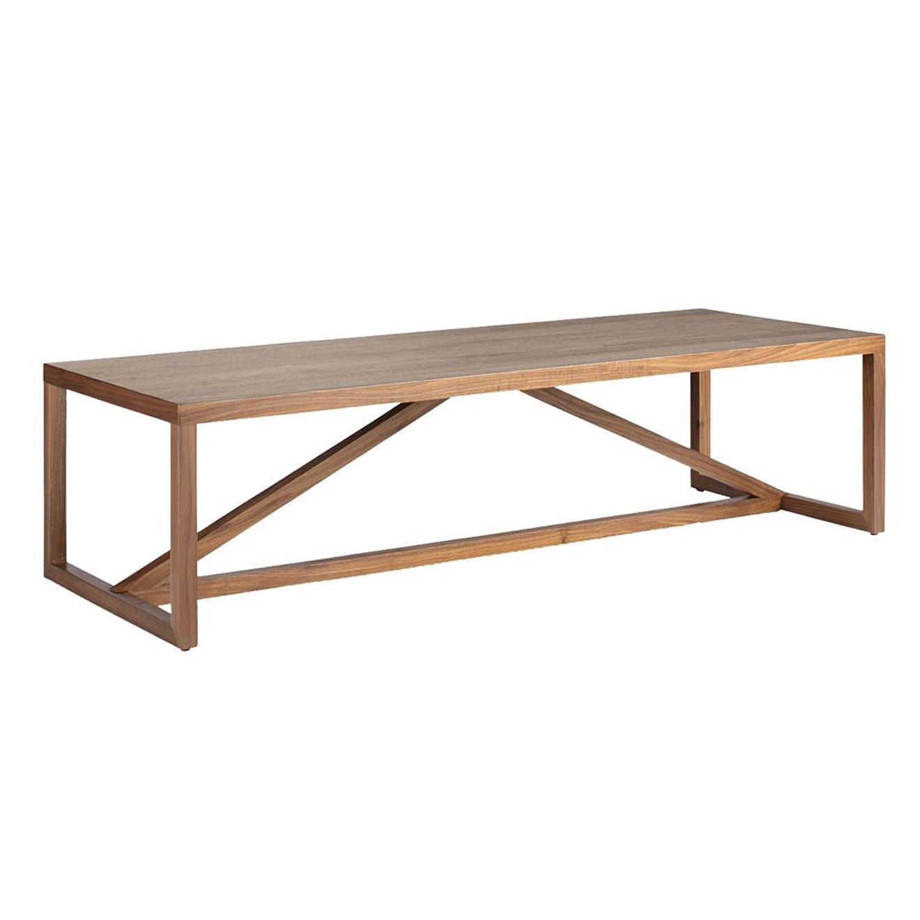 Strut Wood Coffee Table by Blu Dot