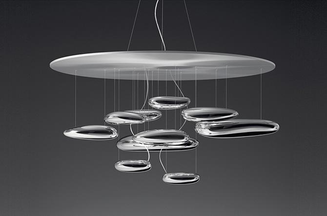 Mercury LED Suspension by Artemide