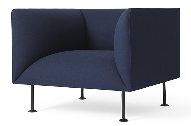 Godot Lounge Chair by Menu