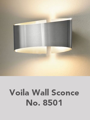 Voila Wall Sconce No. 8501