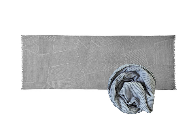 Nepal Projects - Cashmere Scarf by Menu