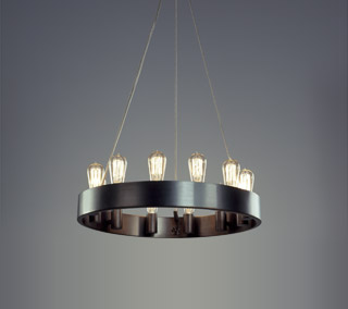 Candelaria Chandelier By Rico Espinet for Robert Abbey