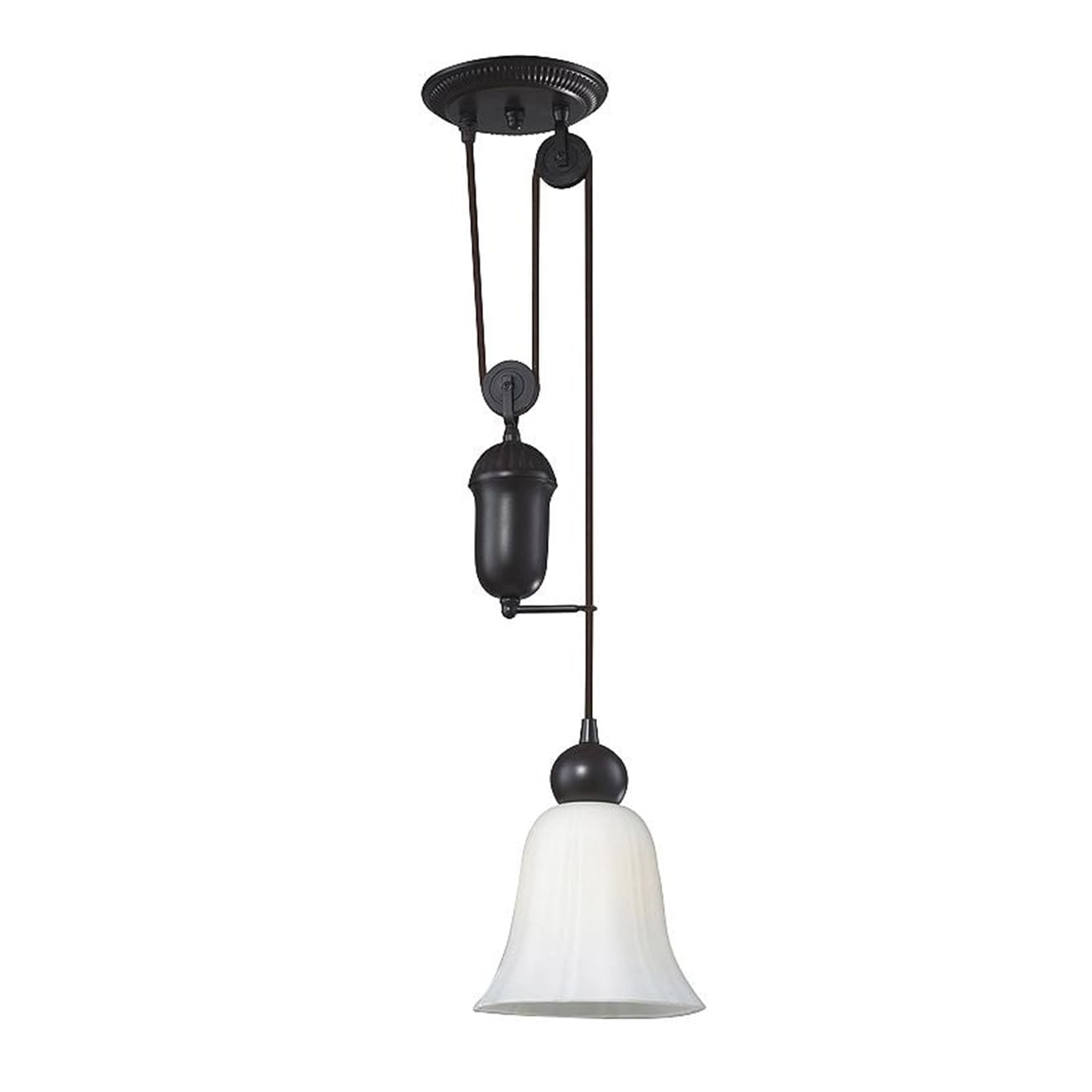 Farmhouse Glass Mini Pendant by ELK Lighting