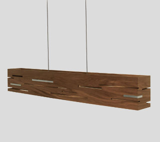 Aeris LED Linear Pendant by Cerno