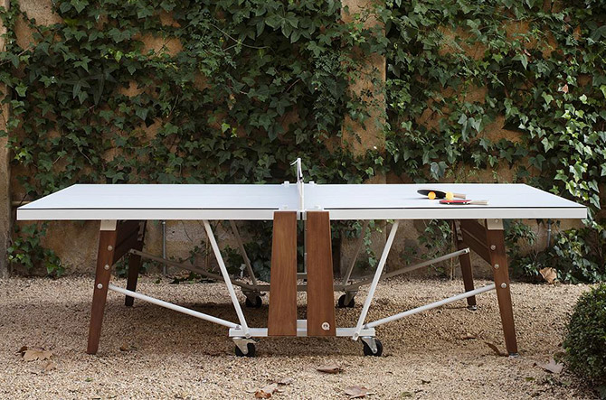 The Life of the Party: RS# Folding Ping Pong Tableby RS Barcelona