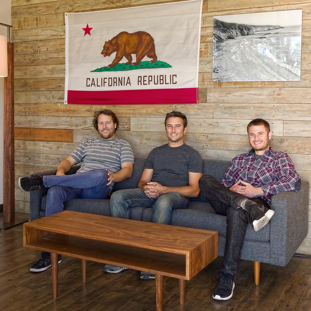 Nick Sheridan, Dan Wacholder and Bret Englander, founders of Cerno
