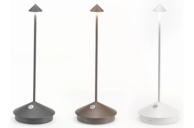 Pina Pro Rechargeable LED Table Lamp by Ai Lati Lights