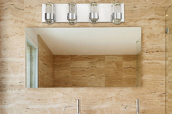 Surrey LED Bath Bar by Alico Lighting