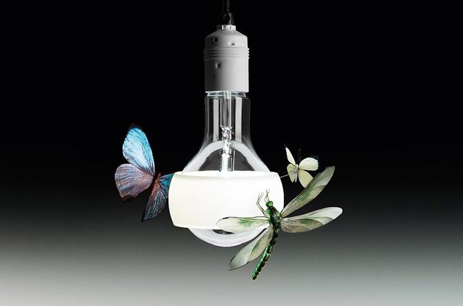 Johnny B. Butterfly Pendant by Ingo Maurer