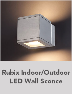 Rubix Indoor/Outdoor LED Wall Sconce