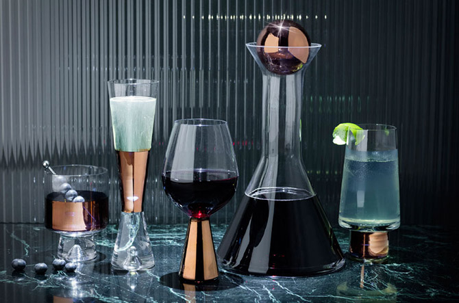 Tank Entertaining Collection by Tom Dixon