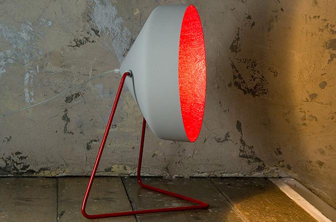 Cyrus Cemento Floor Lamp by In-Es Art Design