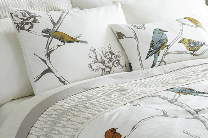 Chinoiserie Bedding Collection by DwellStudio