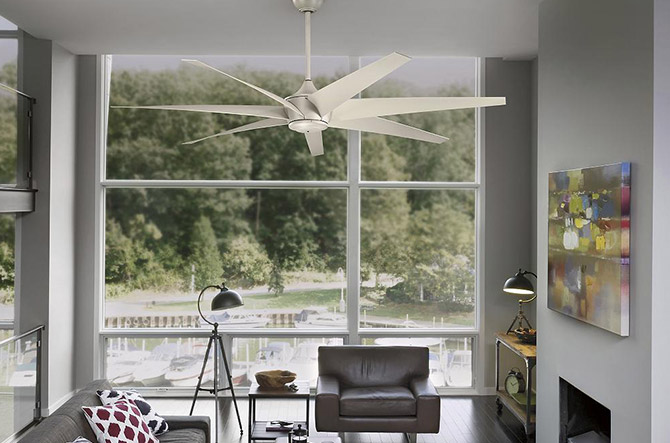 Lehr Ceiling Fan by Kichler