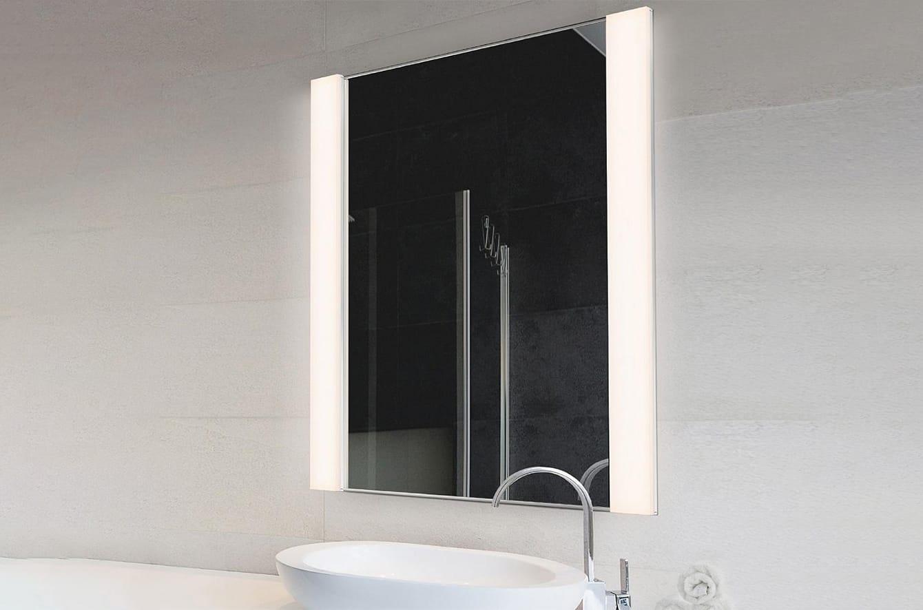 Vanity Wide Vertical LED Mirror Kit by SONNEMAN Lighting