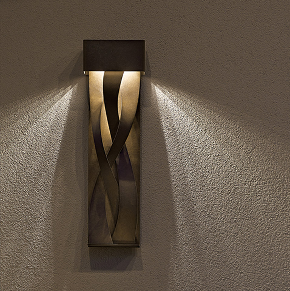 Tress Outdoor LED Sconces by Hubbardton Forge