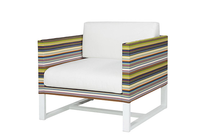 Stripe Lounge Chair by Mamagreen