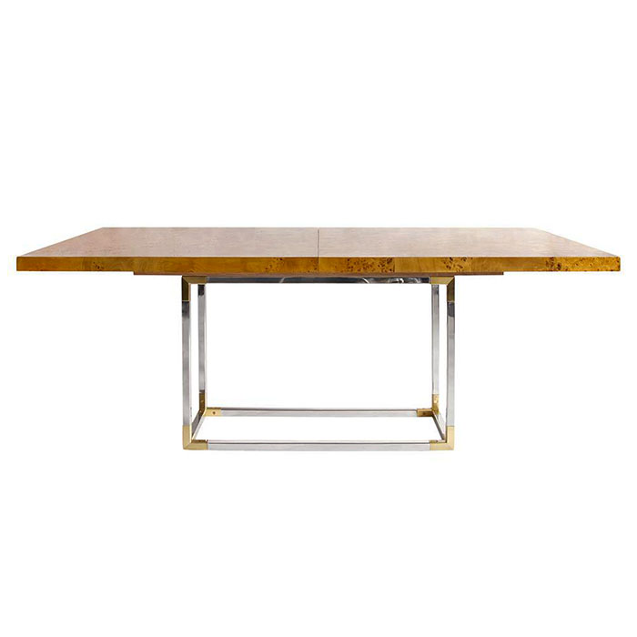 Bond Extension Dining Table by Jonathan Adler.