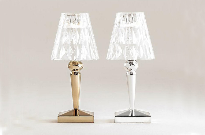Precious Battery Table Lamp by Kartell